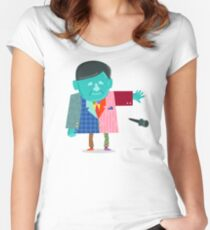 Craig Sager Strong Women's Fitted Scoop T-Shirt