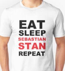 Sebastian Stan Fan Print Unisex T-Shirt