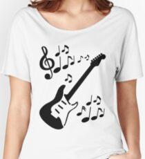 Rythmic Guitar Women's Relaxed Fit T-Shirt