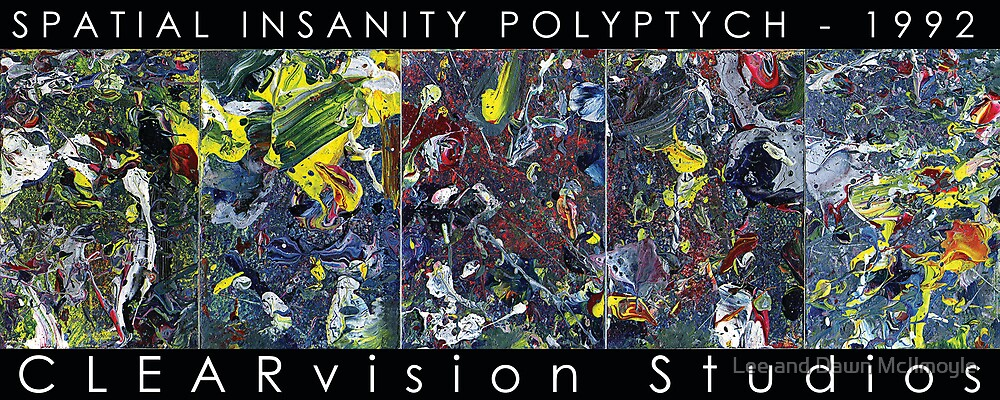 Spatial Insanity (1992) by Lee Edward McIlmoyle
