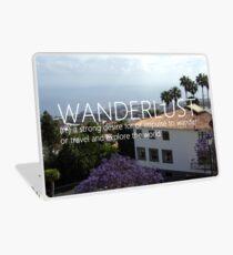 wanderlust - impulser to travel Laptop Skin