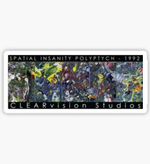 Spatial Insanity (1992) Sticker