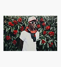 Lil Yachty Rose Bush Photographic Print