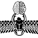 Winged Scarab w/Brain by Vermilionmind