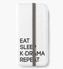 Koreanischer Dramazyklus iPhone Flip-Case/Hülle/Klebefolie