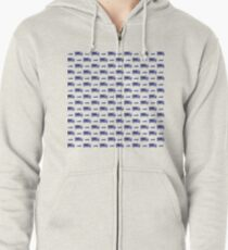 Little trucks & cars Zipped Hoodie