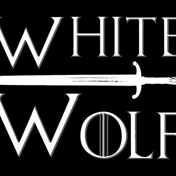 White Wolf by dasilvawolfgang