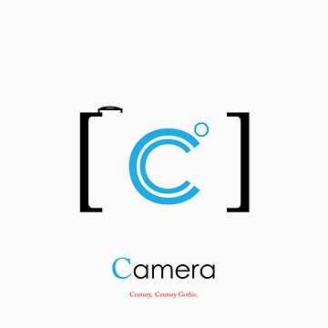 camera Typography by justjimdesign