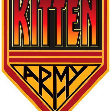 KITTEN ARMY by mrkenray