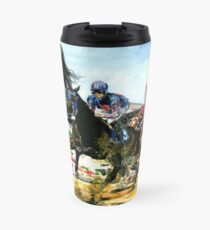Saratoga Springs NY Racing course Travel Mug