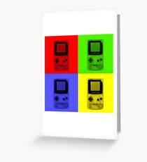 Gameboy Colour-Small Greeting Card