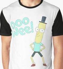 Mr pooptbutthole- Rick and Morty Graphic T-Shirt