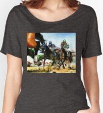 Saratoga Springs NY Racing course Women's Relaxed Fit T-Shirt