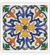 Portugal Azulejos MultiColoured Sticker