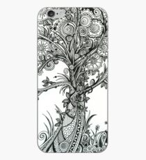 Elegance,  Ink Tree Drawing iPhone Case