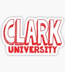 Clark University Sticker