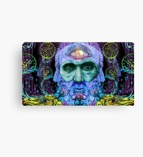 PSYCHEDELIC Old men Canvas Print