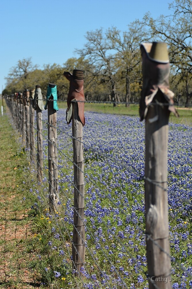 Boot Fence by Cathy Jones