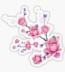 Cherry blossoms I Sticker