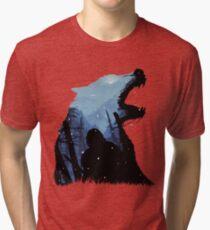 Jon Snow - King of The North Tri-blend T-Shirt