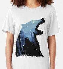 Jon Snow - King of The North Slim Fit T-Shirt