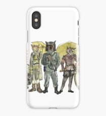 Steampunk Justice Revolution Clan iPhone Case/Skin