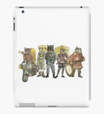 Steampunk Justice Revolution Clan iPad Case/Skin