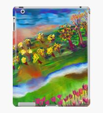 Whimsical Sunset by Roger Pickar, Goofy America iPad Case/Skin