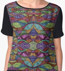 Psychedelic Abstract colourful work 93 Chiffon Top