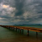 Alcudia Jetty, Majorca,Spain by Jim Wilson