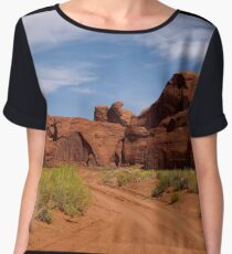 I Will Go Where The Road Leads Me Chiffon Top