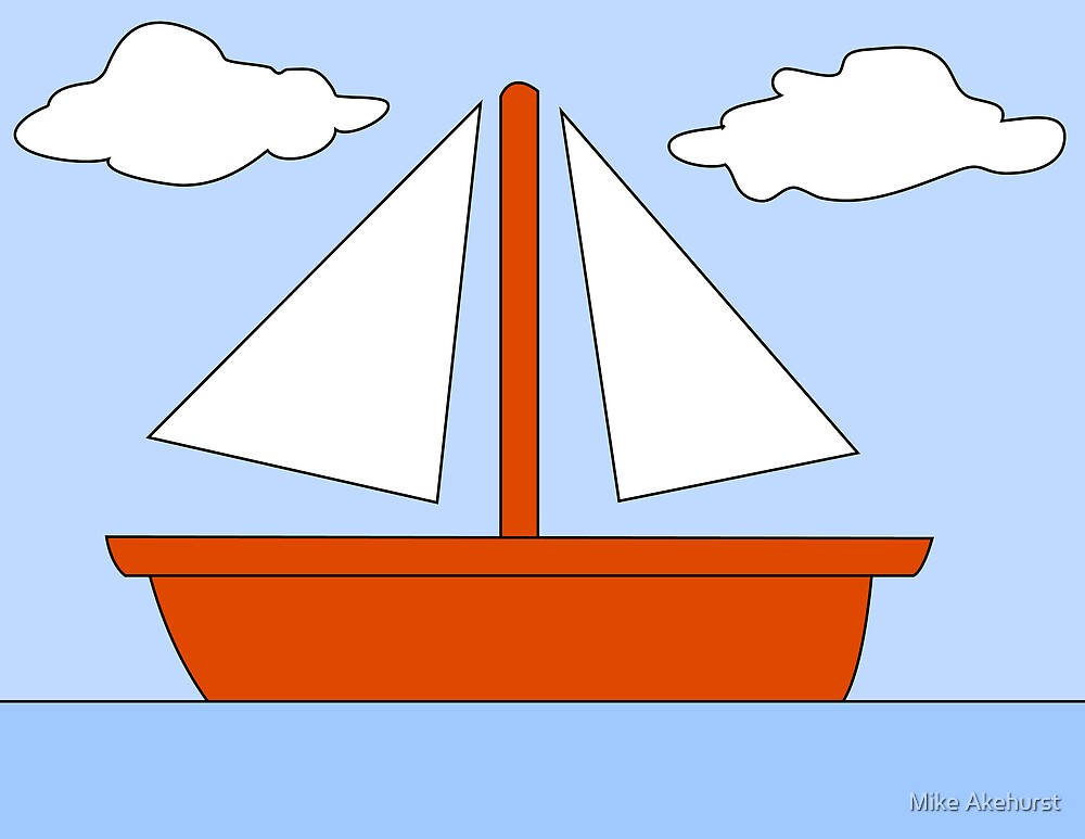 Cartoon Boat Picture by Mike Akehurst