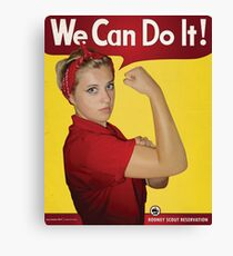 We Can Do It! Canvas Print