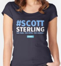 Scott Sterling-STUDIO C Women's Fitted Scoop T-Shirt