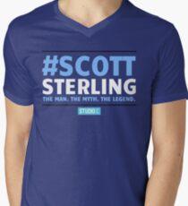 Scott Sterling-STUDIO C Men's V-Neck T-Shirt