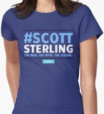 Scott Sterling-STUDIO C Women's Fitted T-Shirt