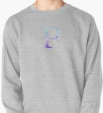 Blue Rho Watercolor Letter Pullover