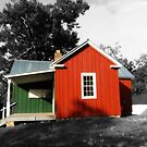 The Little Old Schoolhouse by Bine