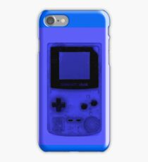 Gameboy Colour-Blue iPhone Case/Skin