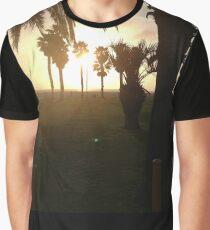 beach scene Graphic T-Shirt