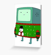 BMO - christmas Greeting Card
