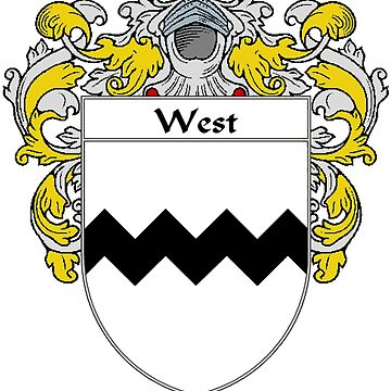 West Coat of Arms / West Family Crest by IrishArms