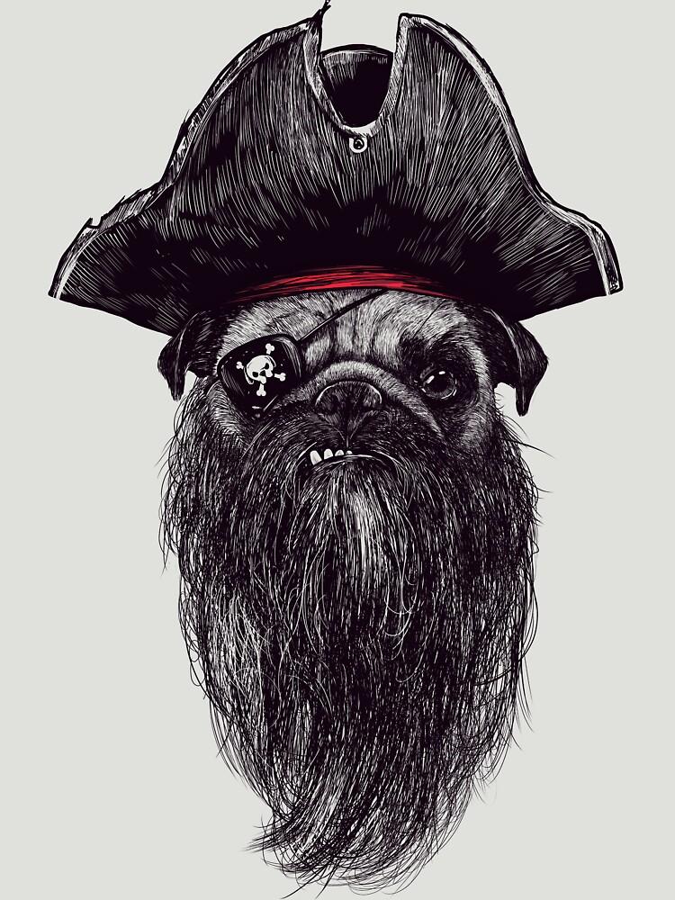 Capt. Blackbone el pugrate de Madkobra