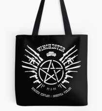 Winchester Coat of Arms (white logo) Tote Bag