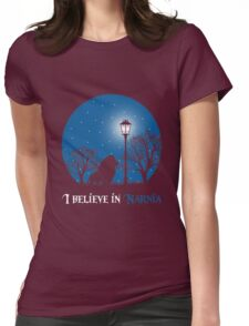 narnia Womens Fitted T-Shirt