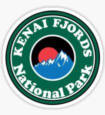 KENAI FJORDS NATIONAL PARK ALASKA MOUNTAINS HIKING CAMPING HIKE CAMP Sticker
