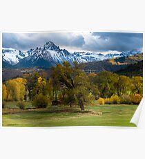 Sneffels Fall Cattle Ranch - Ridgway - Colorado Poster