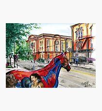 Saratoga Springs Broadway Photographic Print