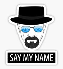 Breaking Bad - Say my name Sticker