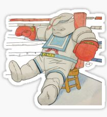 Stay Puft in the Ring Sticker